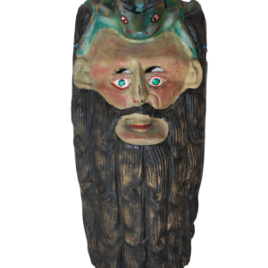 Large Mexican Mask – Man and Frog