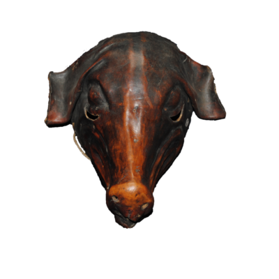Leather Hide Pig Mask