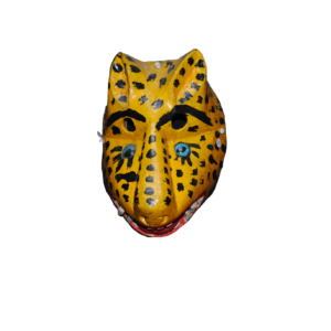 Oaxacan Wood Tigre Mask