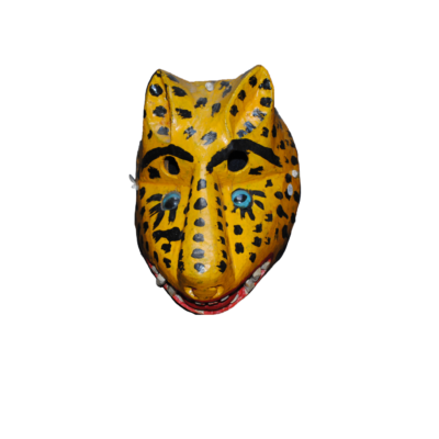 Oaxacan Wood Tigre Mask
