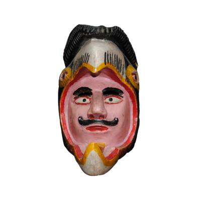 Animal / Conquistador Mask from Jalisco Mexico