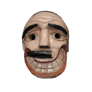 Vintage Landowner / Bigote Dance Mask from Michoacán