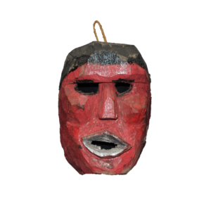 Vintage Wooden Mask from Guatemala