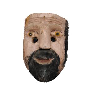 Los Tlacololeros Dance Mask from Guerrero