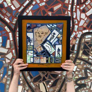Framed Isaiah Zagar Mosaics