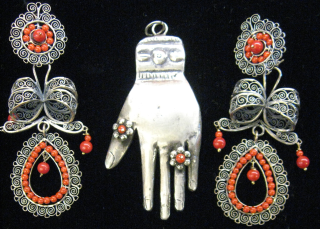 Vintage Mexican Sterling Jewelry 86