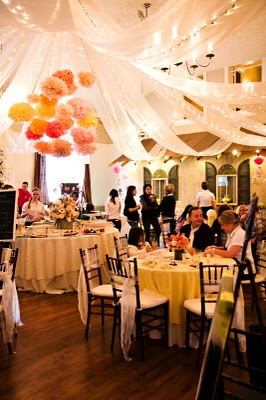 Wedding With Mexican Paper Flowers Eyes Gallery